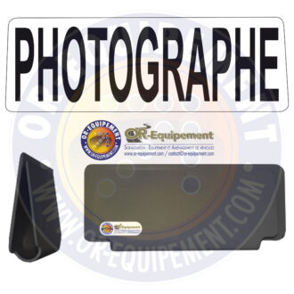 CLIP RETRO-REFLECHISSANT PHOTOGRAPHE