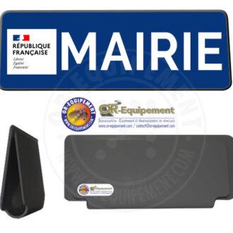 CLIP RETRO-REFLECHISSANT MAIRIE AVEC LA MARIANNE