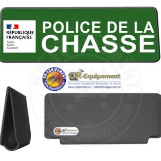 CLIP RETRO-REFLECHISSANT POLICE DE LA CHASSE