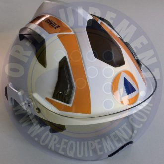 MARQUAGE CASQUE DNA PROTECTION CIVILE