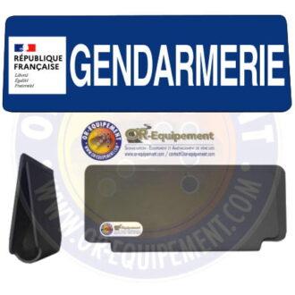 CLIP RETRO-REFLECHISSANT GENDARMERIE AVEC LOGO MARIANNE