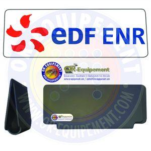 CLIP RETRO-REFLECHISSANT EDF ENR