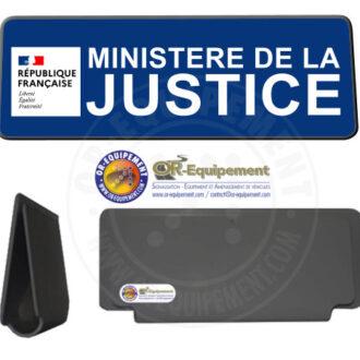 CLIP RETRO-REFLECHISSANT MINISTERE DE LA JUSTICE