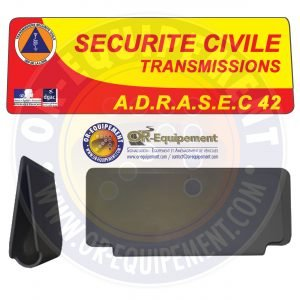 CLIP RETRO-REFLECHISSANT ADRASEC 42