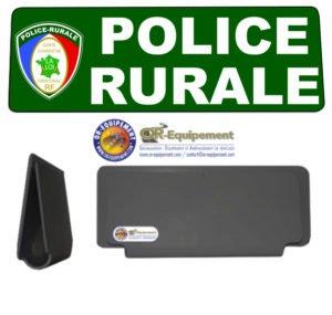 CLIP RETRO-REFLECHISSANT POLICE RURALE