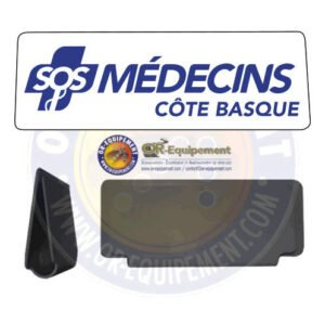 CLIP RETRO-REFLECHISSANT SOS MEDECINS COTE BASQUE