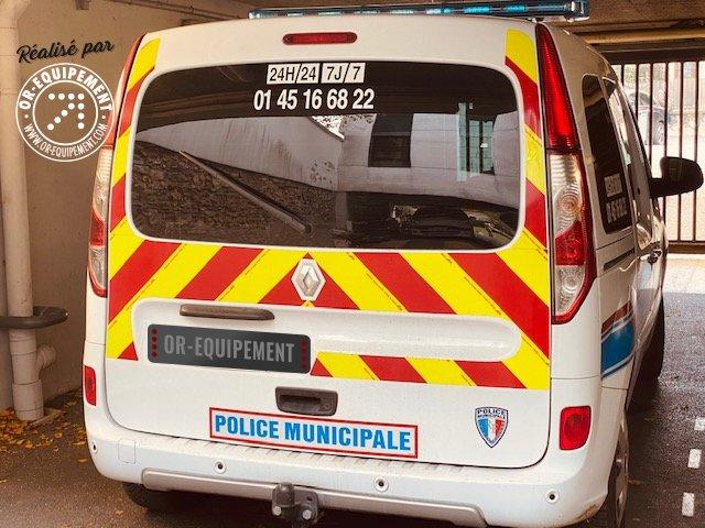 3 Renault kangoo pour Police municipale