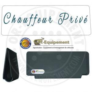 CLIP RETRO-REFLECHISSANT CHAUFFEUR PRIVE
