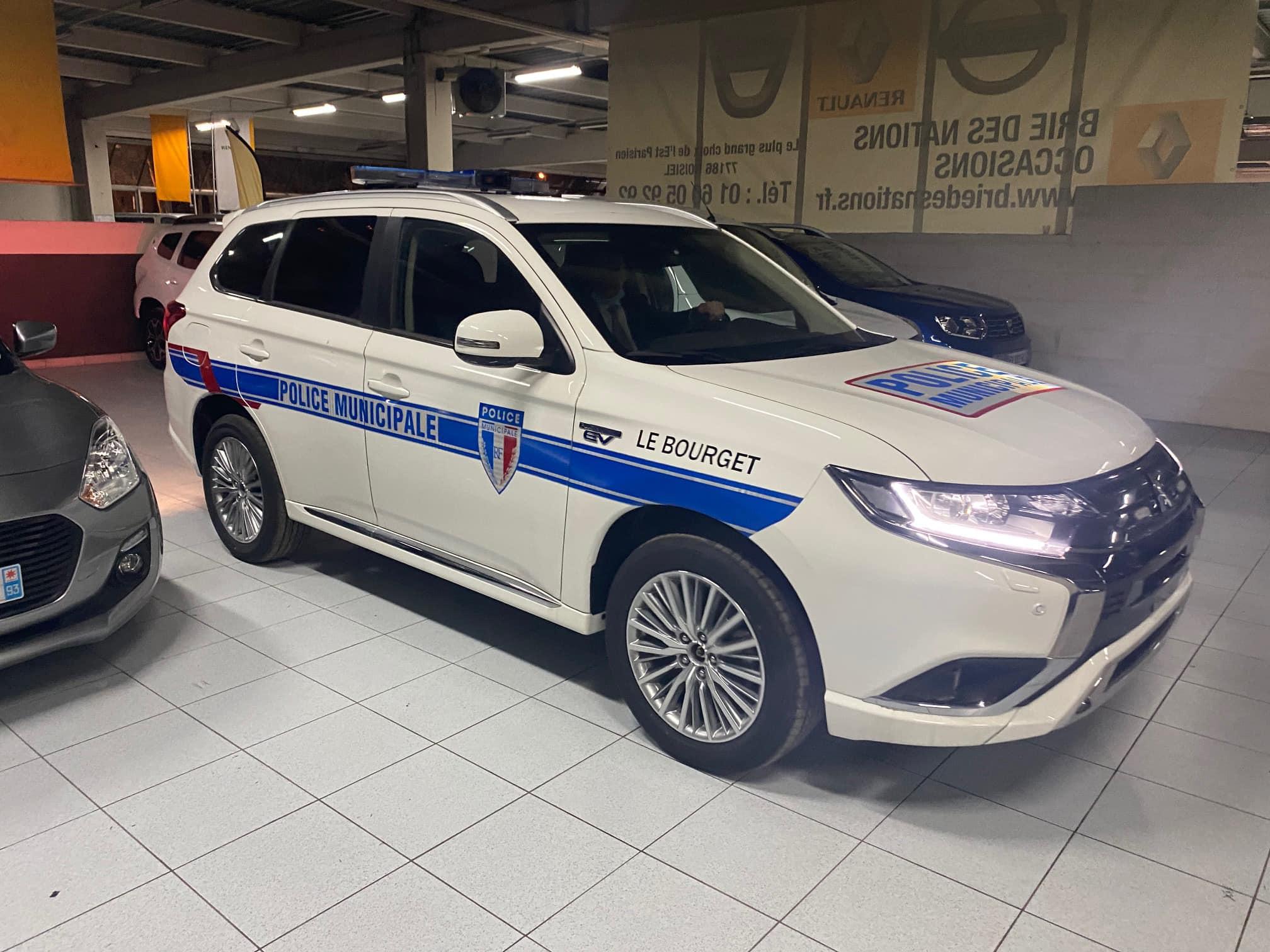 police municipale – MITSUBISHI OUTLANDER