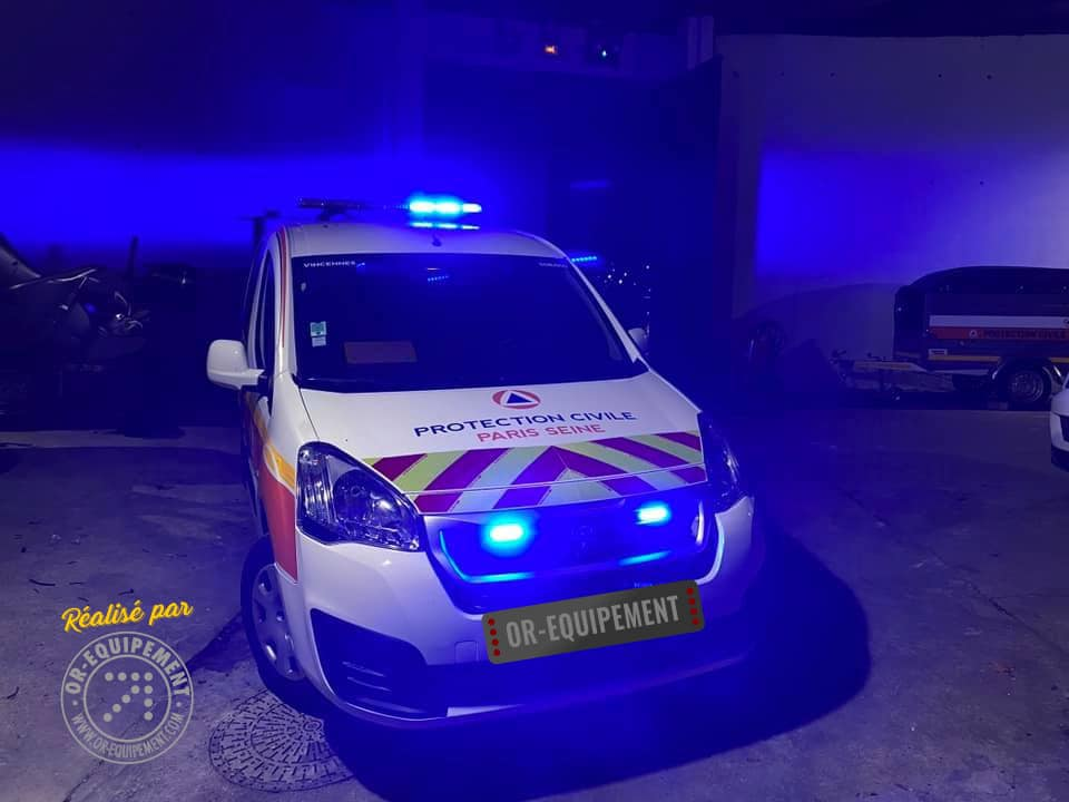 Protection Civile Peugeot Rifter