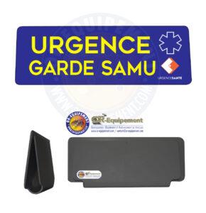 CLIP RETRO-REFLECHISSANT URGENCE GARDE SAMU