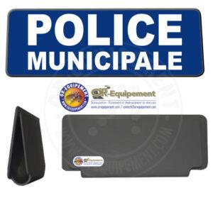 CLIP RETRO-REFLECHISSANT POLICE MUNICIPALE