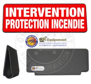 CLIP RETRO-REFLECHISSANT INTERVENTION SECURITE INCENDIE