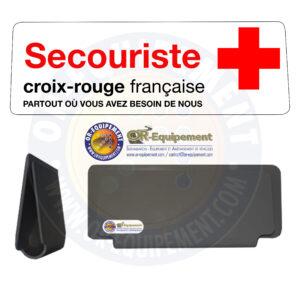 CLIP RETRO-REFLECHISSANT CROIX ROUGE FRANCAISE SECOURISTE