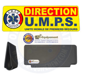 CLIP RETRO-REFLECHISSANT U.M.P.S. DIRECTION