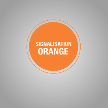 Signalisation Orange